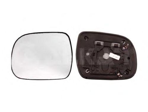 Стекло зеркала заднего вида ALKAR 6401036