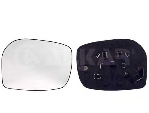 Стекло зеркала заднего вида ALKAR 6401267