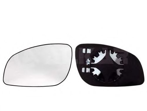 Стекло зеркала заднего вида ALKAR 6401444