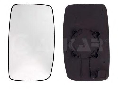 Стекло зеркала заднего вида ALKAR 6401955
