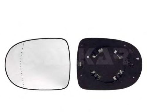 Стекло зеркала заднего вида ALKAR 6402176