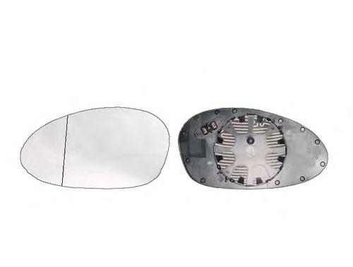 Стекло зеркала заднего вида ALKAR 6412541