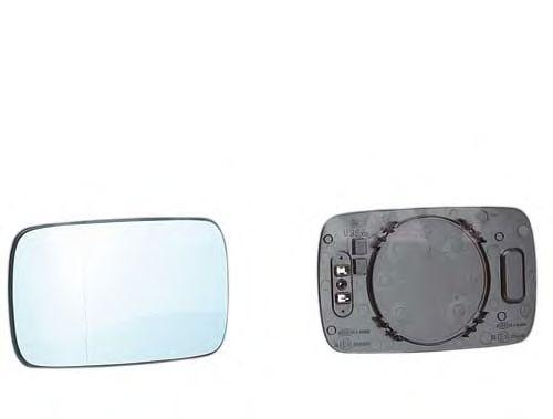 Стекло зеркала заднего вида ALKAR 6432485