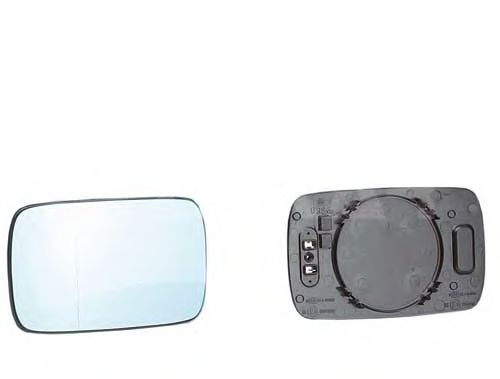 Стекло зеркала заднего вида ALKAR 6472849