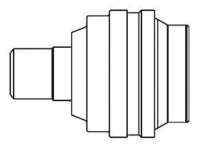 Комплект ШРУСов GSP 661020