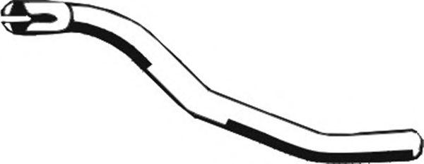 Труба выхлопного газа ASMET 02.015