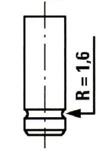 Выпускной клапан ET ENGINETEAM VE0074