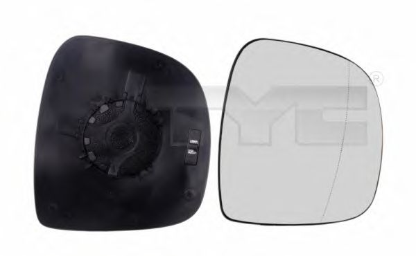 Зеркальное стекло, узел стекла TYC 321-0097-1