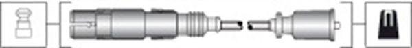 Комплект высоковольтных проводов MAGNETI MARELLI 941318111304