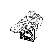 Кронштейн глушителя HJS 83 23 6530