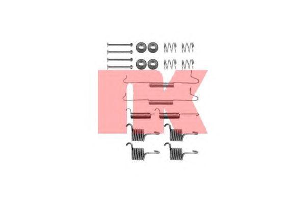 Монтажный комплект тормозных колодок NK 7947649
