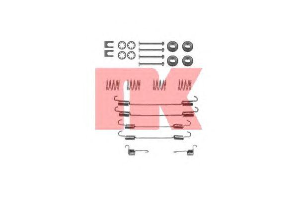 Монтажный комплект тормозных колодок NK 7919747