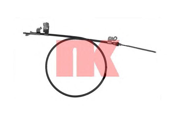 Трос ручника NK 9045143