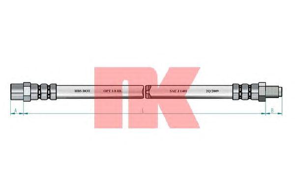 Тормозной шланг NK 854798