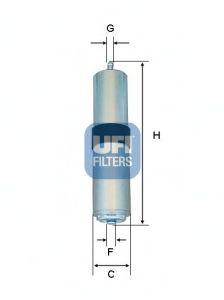 Топливный фильтр UFI 31.857.01