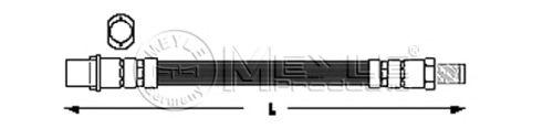 Тормозной шланг MEYLE 014 042 0016