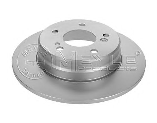 Тормозной диск MEYLE 015 523 2012/PD