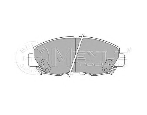 Тормозные колодки MEYLE 025 214 9918/W