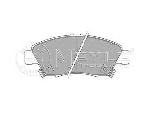 Тормозные колодки MEYLE 025 216 9416/W