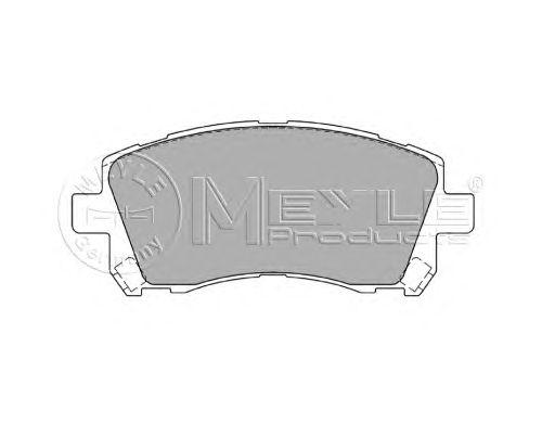 Тормозные колодки MEYLE 025 235 5817/W