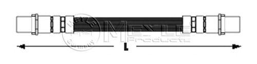 Тормозной шланг MEYLE 100 611 0016