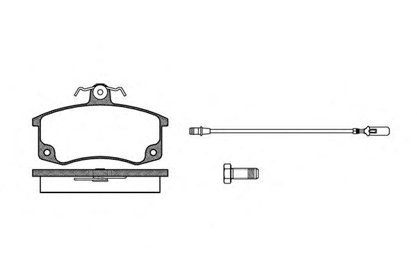 Тормозные колодки REMSA 0221.02