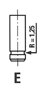 Выпускной клапан FRECCIA R3988/RCR