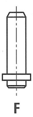 Направляющая втулка клапана FRECCIA G3527