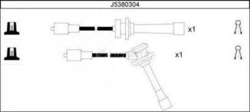 Комплект высоковольтных проводов NIPPARTS J5380304