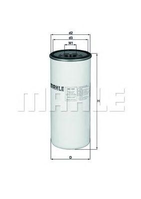 Топливный фильтр MAHLE ORIGINAL KC 300