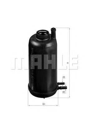 Топливный фильтр MAHLE ORIGINAL KL 707