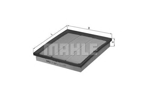 Воздушный фильтр MAHLE ORIGINAL LX 2683