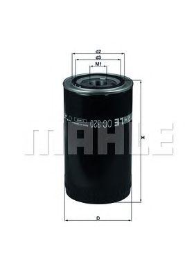 Масляный фильтр MAHLE ORIGINAL OC 320