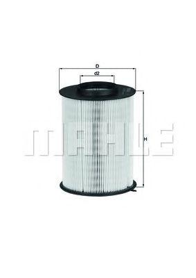 Воздушный фильтр MAHLE ORIGINAL LX 1780/3