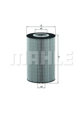 Масляный фильтр MAHLE ORIGINAL OX 426D