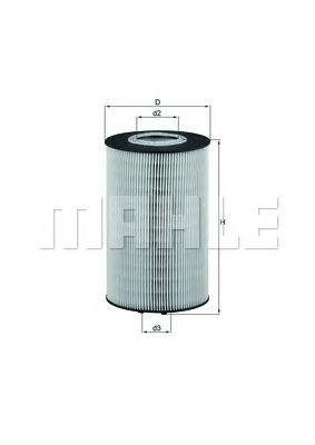 Масляный фильтр MAHLE ORIGINAL OX 435D