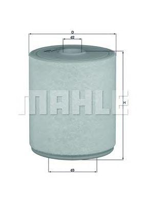 Воздушный фильтр MAHLE ORIGINAL LX 2049/4