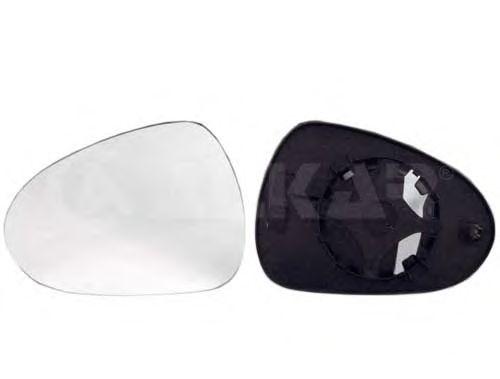 Стекло зеркала заднего вида ALKAR 6401803