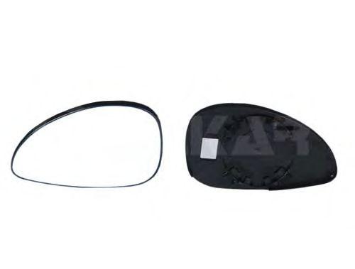 Стекло зеркала заднего вида ALKAR 6401855