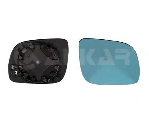 Стекло зеркала заднего вида ALKAR 6402500