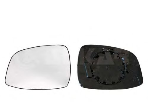 Стекло зеркала заднего вида ALKAR 6402996