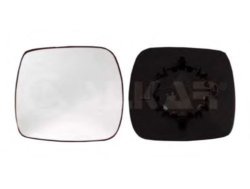 Стекло зеркала заднего вида ALKAR 6403160