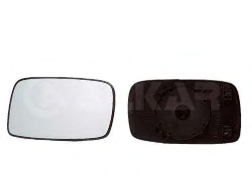 Стекло зеркала заднего вида ALKAR 6423515