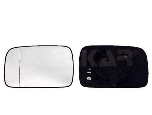 Стекло зеркала заднего вида ALKAR 6426107