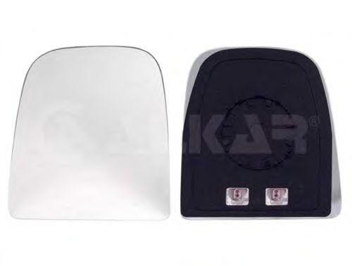 Стекло зеркала заднего вида ALKAR 6431249