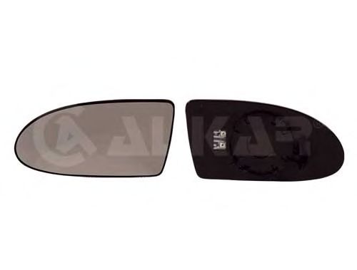 Стекло зеркала заднего вида ALKAR 6431576