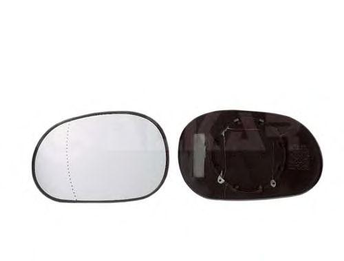 Стекло зеркала заднего вида ALKAR 6451224