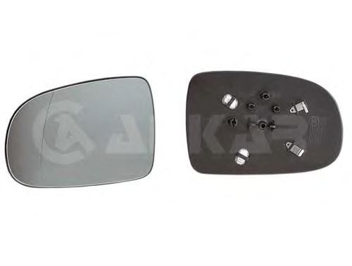 Стекло зеркала заднего вида ALKAR 6451420
