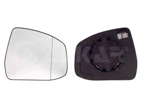 Стекло зеркала заднего вида ALKAR 6471376