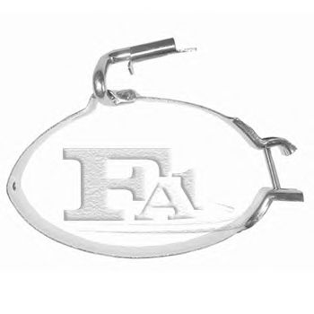Кронштейн глушителя FA1 124-903